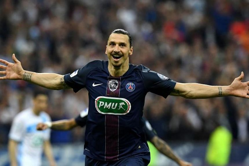 Zlatan Ibrahimovic is currently without a club as he recovers from cruciate knee ligament damage .