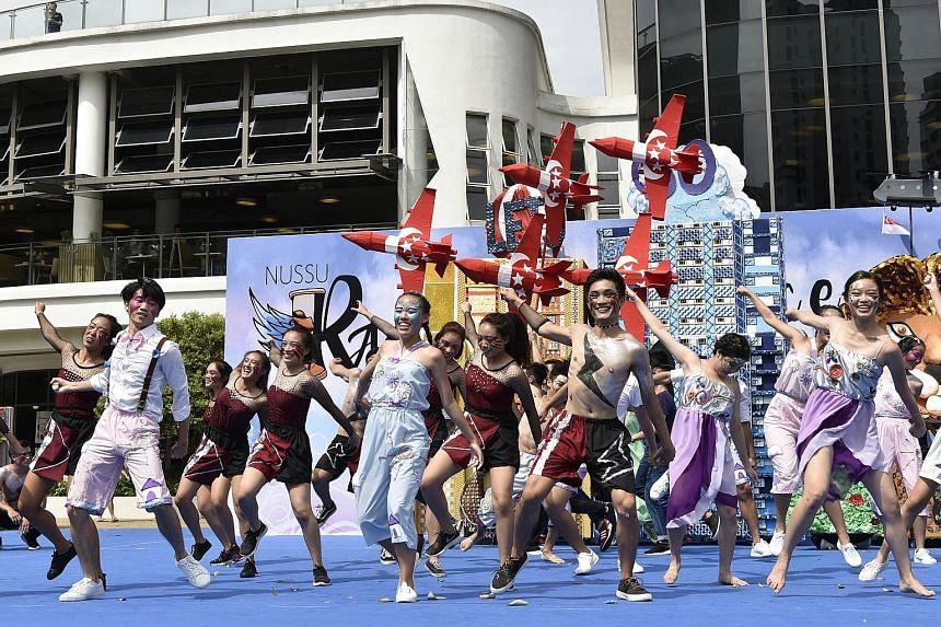 Students from the National University of Singapore (NUS) have raised more than $400,000 through the NUS Students' Union (NUSSU) Rag and Flag 2017. The funds raised will go towards 21 charity programmes supported by Community Chest, including the AWWA
