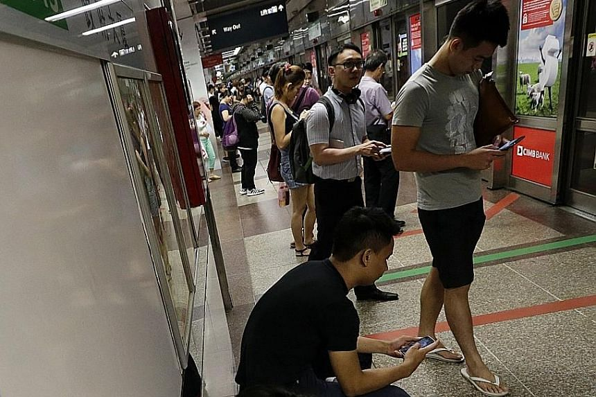 High mobile Internet usage here should allow Singapore to tap continuing growth in the use of online financial services.