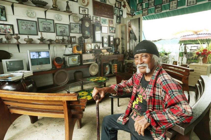The first thing Mr Jumahat, 75, decided to do was spruce up the studio, which stopped operating in 1967.