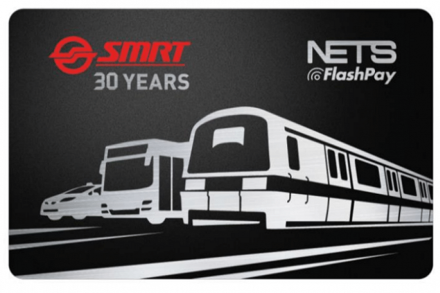 The limited edition NETS FlashPay card will be sold at all Passenger Service Counters in SMRT train stations from Aug 15, 2017.