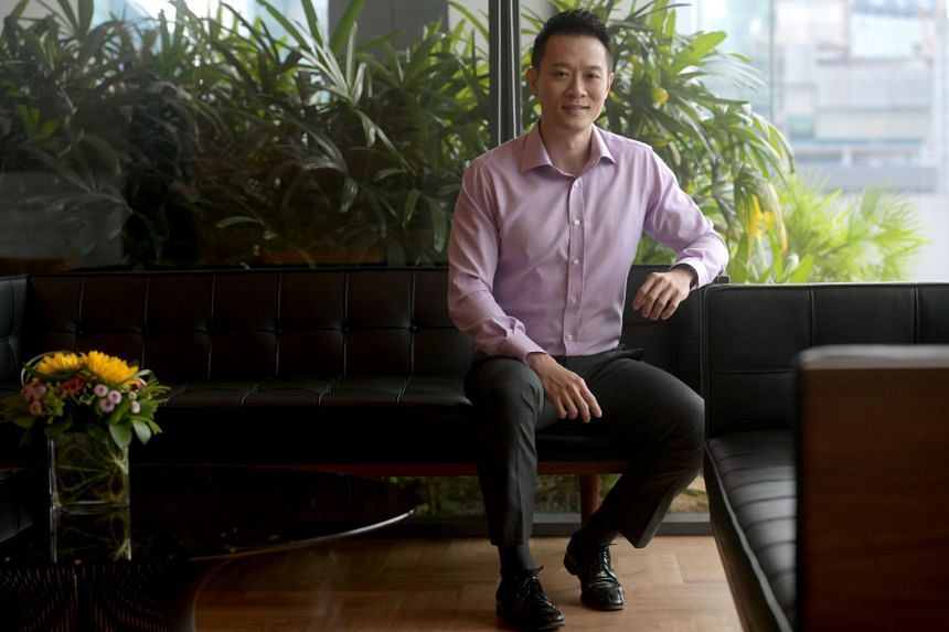 Mr Jerry Low, 41, head of marketing at Schroders Singapore, considers himself a risk-taker, but he still believes in diversification and investing for the long term. He hopes to buy another property in a few years' time as he has a keen interest in