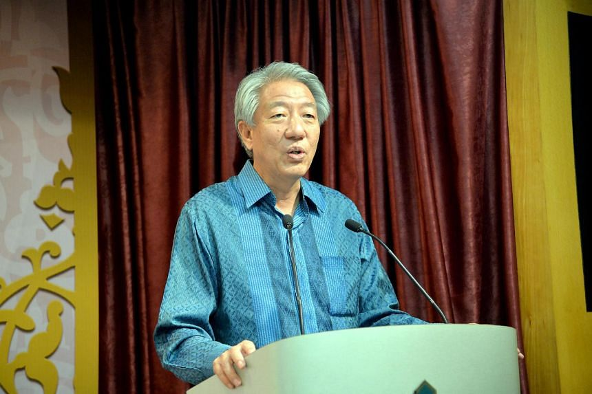 DPM Teo Chee Hean and Mrs Teo will attend the royal wedding in Johor on Monday.