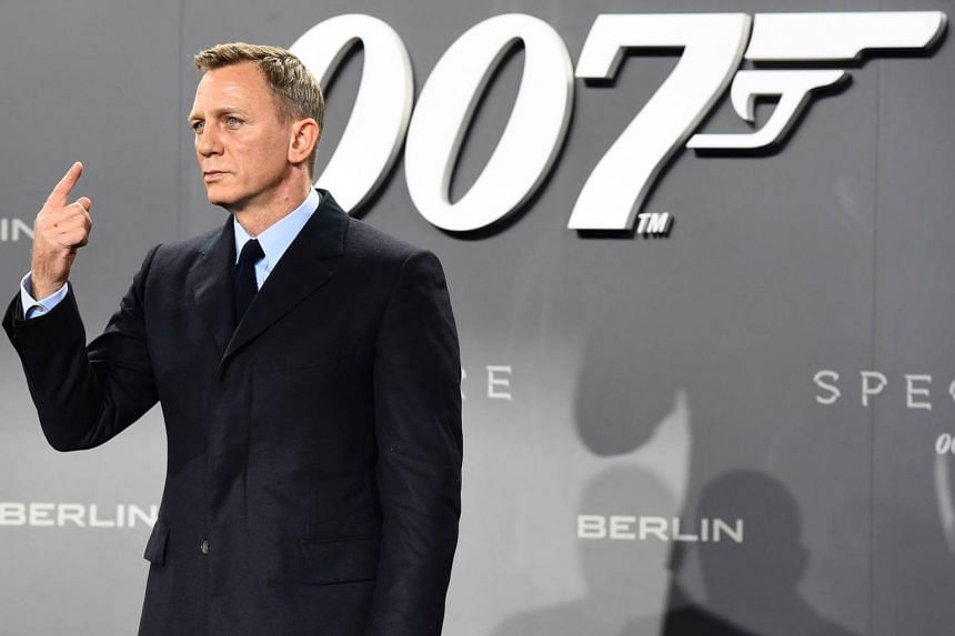 British actor Daniel Craig at a photocall for the James Bond film Spectre in Berlin on Oct 28, 2015.