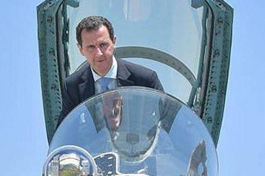 The Syrian government led by President Bashar al-Assad denies reports by the UN commission.