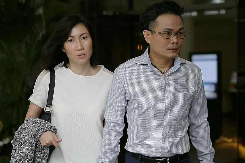 Mr Ng Ai Hua (above) said he hopes that the couple (below) - Mr Chow Chuin Yee and Ms Tay Puay Leng - have learnt their lesson after facing not just the punishment of the fines meted out by the court, but also the severe criticisms they received onli