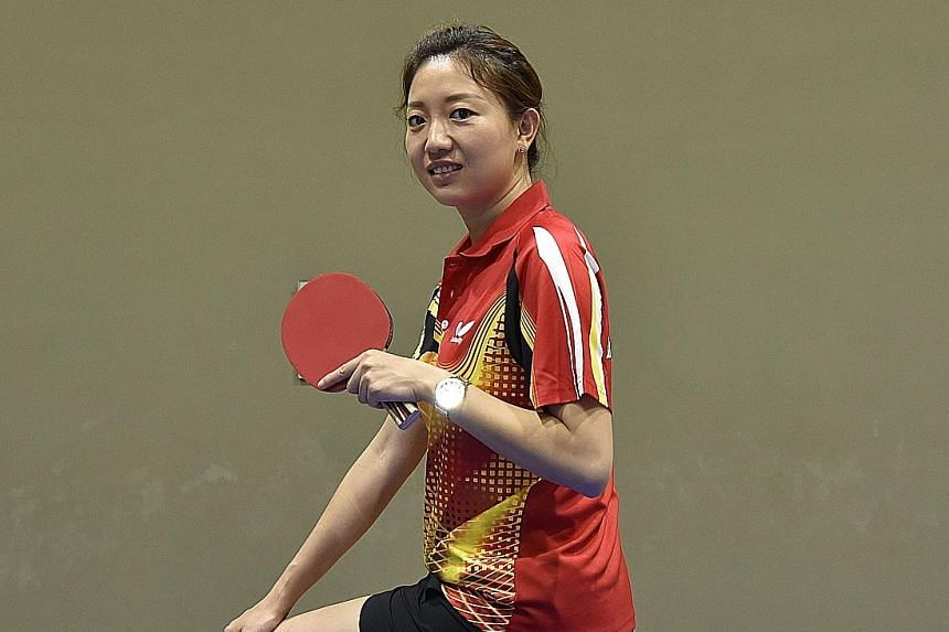 Li Jiawei, who retired in 2012, trains about 30 students between the ages of six and 12 at her table tennis academy, which was launched last month. Her goal is to develop some of them into national players.