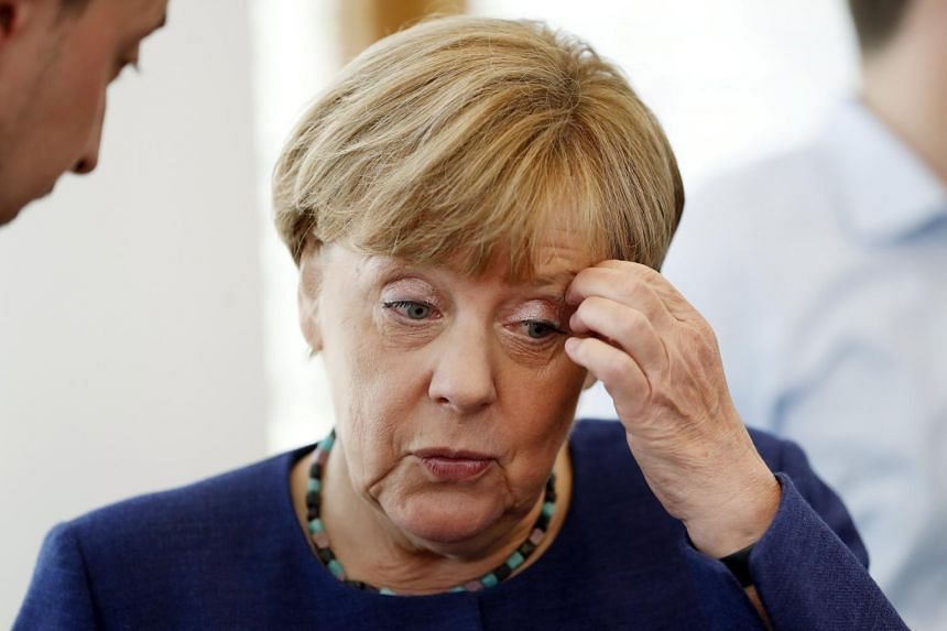 German Chancellor and leader of the Christian Democratic Union, Angela Merkel, in Berlin, Germany, on Aug 14, 2017.
