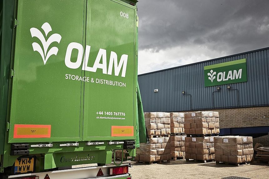 Olam's food staples and packaged foods segment did well, as did its industrial raw materials, agricultural logistics and infrastructure segment.