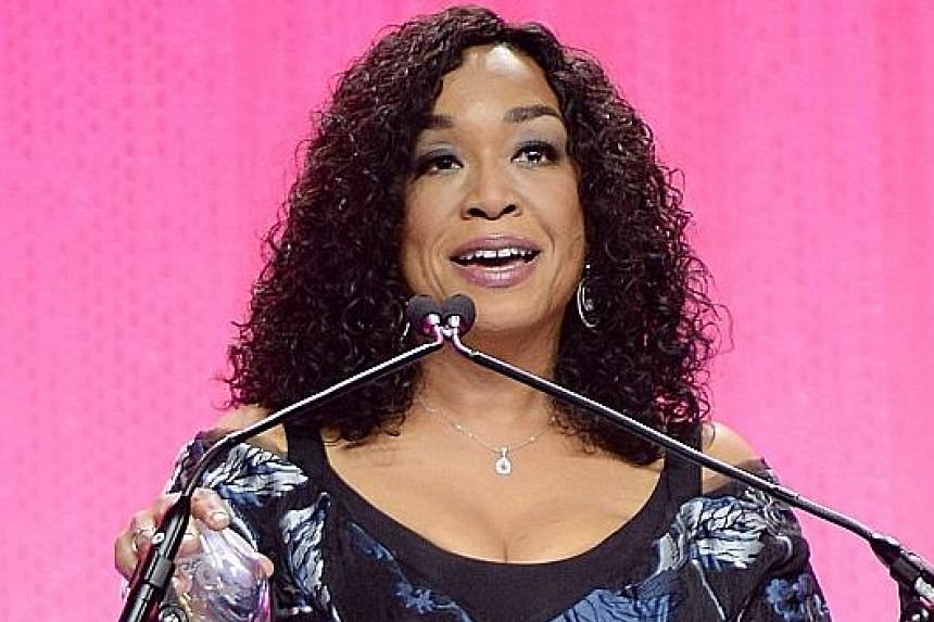 Shonda Rhimes created hits such as Grey's Anatomy and Scandal.