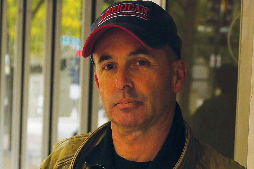 Don Winslow (above), author of The Force, was born in New York and pounded its streets as a private investigator.