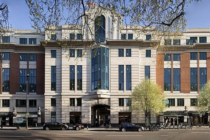 Sinarmas Land said the acquisition of 33 Horseferry Road (above), a freehold prime commercial building in London, lifted total assets to $6.21 billion.