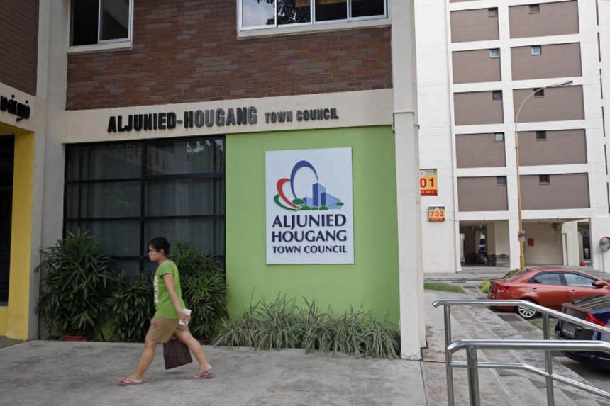 The Aljunied-Hougang Town and Aljunied-Hougang Town Council at Blk 701 Hougang Ave 2.