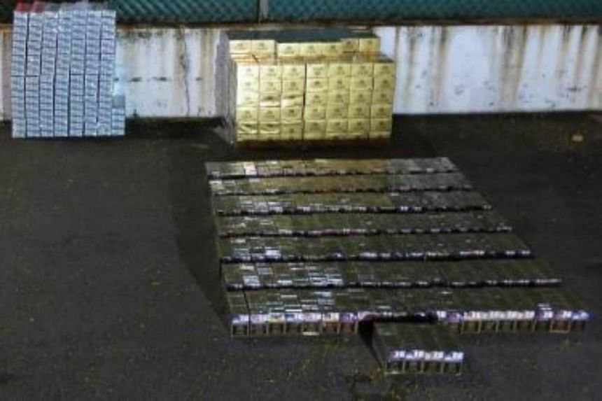 A total of 706 cartons and 1,445 packets of duty-unpaid cigarettes were seized in this operation.