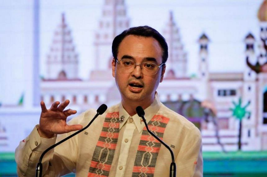 The Philippines Foreign Affairs Secretary Alan Peter Cayetano said any joint ventures would conform to Philippine law and wouldn't lead to the loss of Philippine territory.