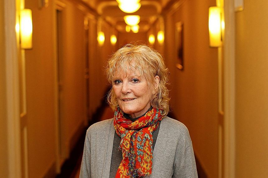 Besides singing her global smash Downtown, Petula Clark (above, in a 2012 photograph) also covered songs from her latest album at the Fairport's Cropredy Convention.