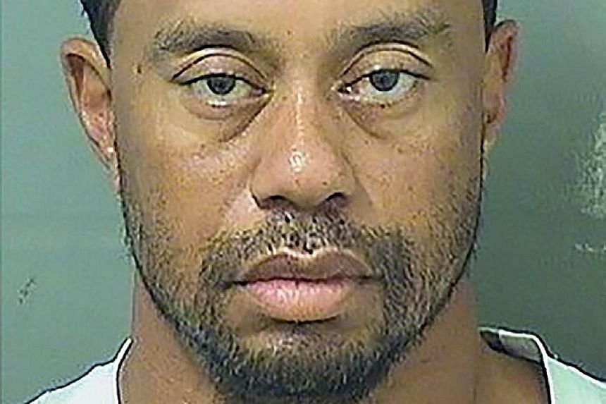 Ex-world No. 1 golfer Tiger Woods, in his booking photo, agreed that he will plead guilty to reckless driving at an Oct 25 hearing and enter a diversion programme that will let him clear his record upon completion.