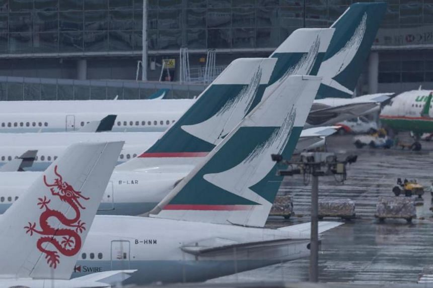 Cathay Pacific Airways posted a loss of HK$2.05 billion (S$357.7 million) for the six months ended June.