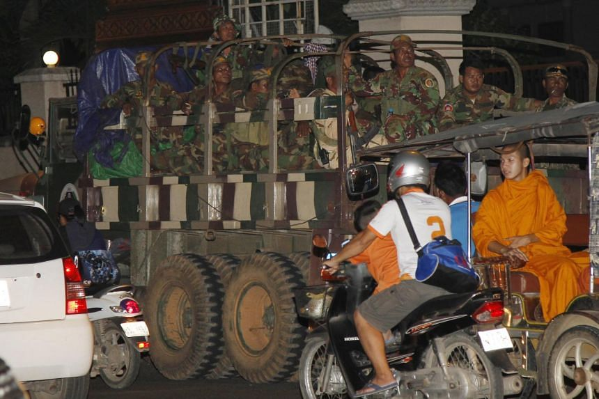 Cambodia redeployed its troops from a dispute border with Laos, after Laos' soldiers removed out from the disputed area in Steung Treng province.