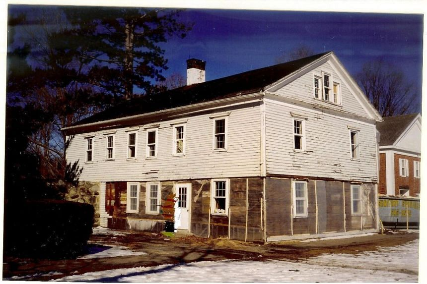 The house was built in Litchfield, Connecticut, in 1774.
