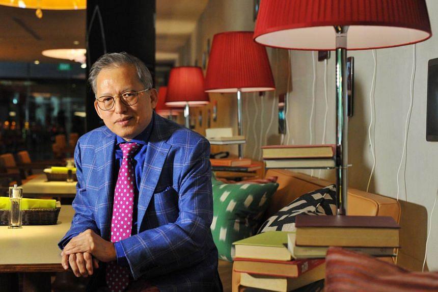 Mr Kwek Leng Beng received a lifetime achievement award at the Asia Pacific Entrepreneurship Awards on Aug 17, 2017.