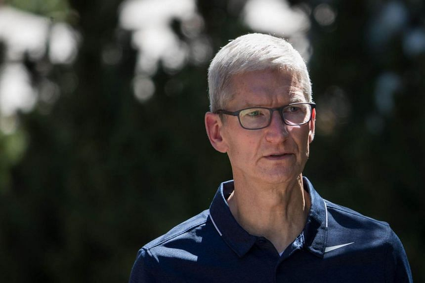 In a note to Apple employees, chief executive officer Tim Cook said he disagrees with those who believe there is a moral equivalence between white supremacists and those who oppose them by standing up for human rights.