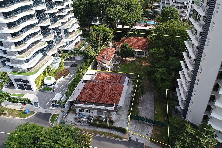 Analysts expect keen interest for the 22,800 sq ft site at 12 Amber Road, which is sandwiched between condominiums Amber Skye and King's Mansion. The plot is near the upcoming Tanjong Katong MRT station that will be on the Thomson-East Coast Line due