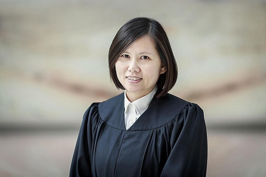 (Clockwise from far left) Judicial Commissioners Hoo Sheau Peng, Debbie Ong, Valerie Thean and Aedit Abdullah will be appointed as High Court judges. Judicial Commissioner Ong will also be the next Presiding Judge of the Family Justice Courts.