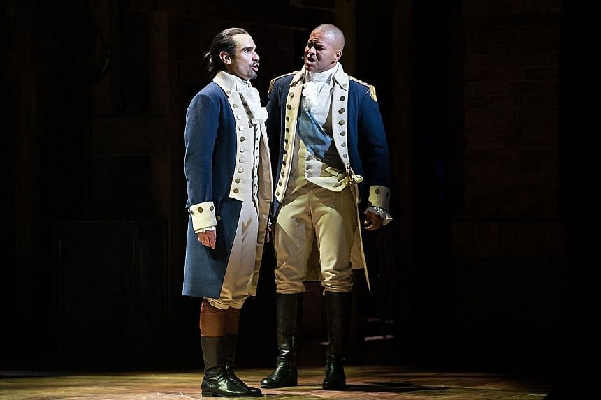 Hamilton, a hit musical about the life and death of the United States' first treasury secretary, is the most expensive ticket on Broadway - the best seats in the house cost more than $1,160.