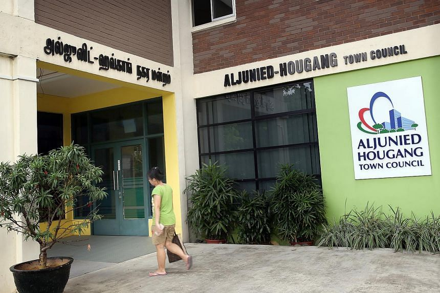 Aljunied-Hougang Town Council at Blk 701 Hougang Ave 2.