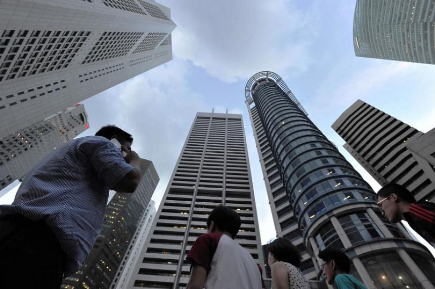 While Singapore is benefiting from a cyclical pickup in external demand, domestic demand remains muted, says Moody's Investors Service.