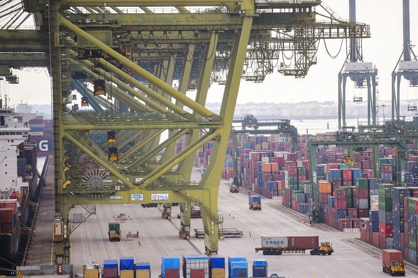 PSA's Pasir Panjang Terminal. The port operator's assets in Singapore include 230 quay cranes, 700 yard cranes and 1,300 prime movers. Even as PSA invests in new technology and intelligent systems, it upkeeps its equipment fleet rigorously to ensure high