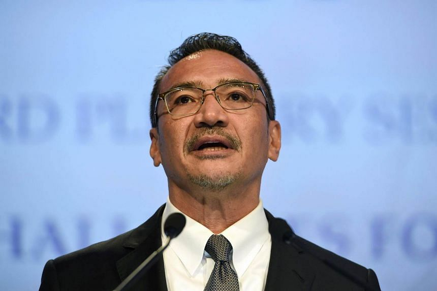 Malaysia's Defence Minister Hishammuddin Tun Hussein speaks during the third plenary session at the 16th Institute for Strategic Studies (IISS) ShangriLa Dialogue Summit in Singapore, on June 3, 2017.