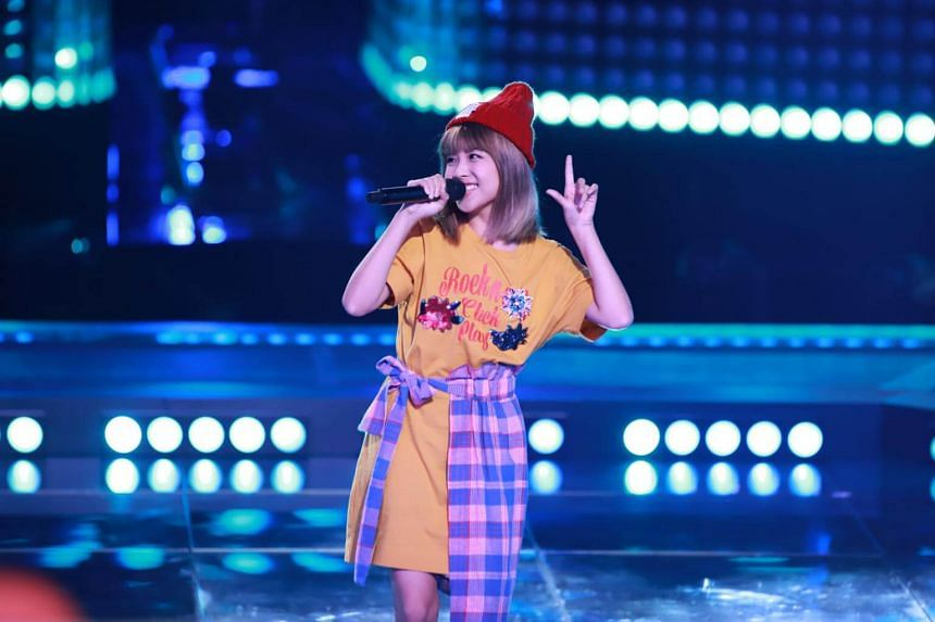 Singapore's Stella Seah is out of the race on Sing! China.