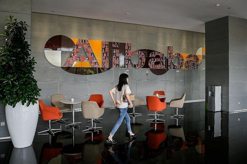 Alibaba's headquarters in Hangzhou, Zhejiang province. The e-commerce firm, one of Asia's most valuable companies, is benefiting from more Chinese buying an increasing proportion of everything from food to clothing to luxury items online. Revenue ros