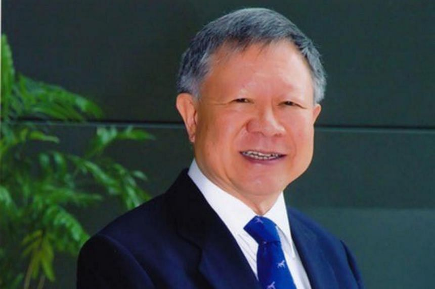 Mr Eddie Teo, chairman of the Public Service Commission.