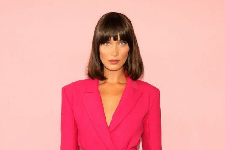 Bella Hadid (above) and her model siblings Gigi and Anwar have huge numbers of followers on social media.