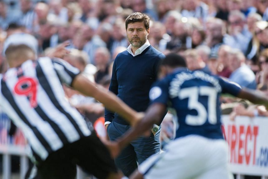 Spurs need time to recruit the right players to help the club progress, Pochettino (above) said.