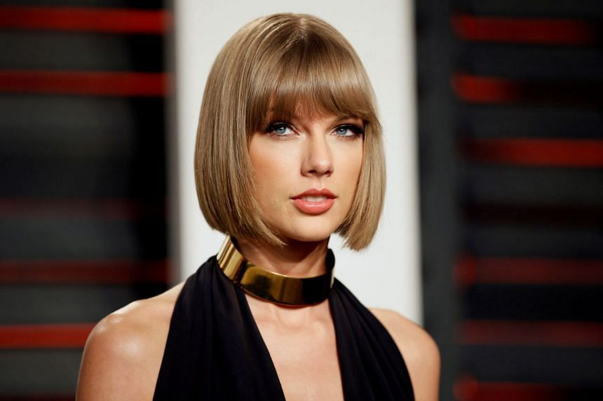 Swift (above, in a file photo) wiped out posts across Instagram, Tumblr and Facebook.