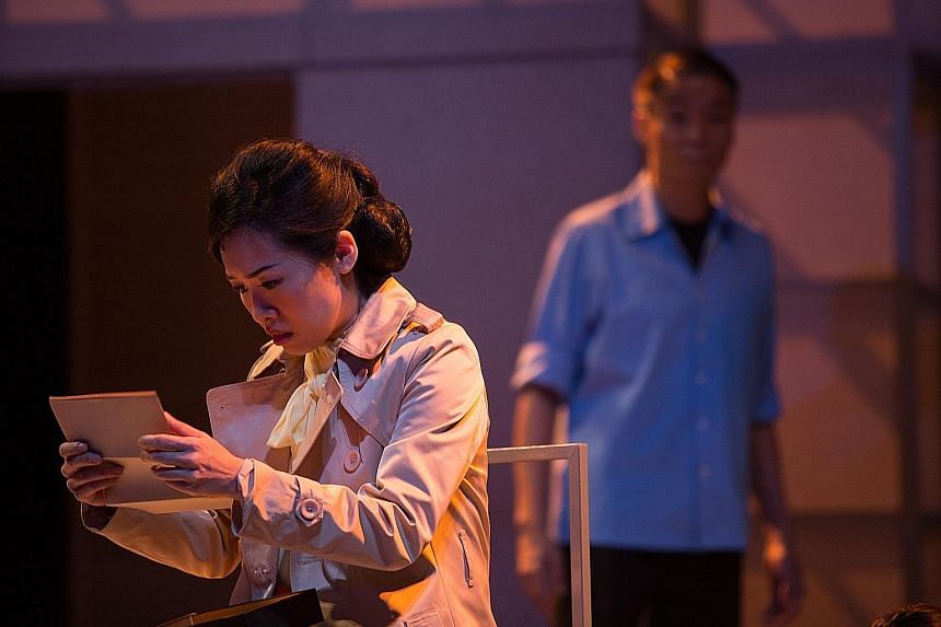 Mia Chee and Tay Kong Hui star in Art Studio, which reimagines Yeng Pway Ngon's novel about a group of artists.