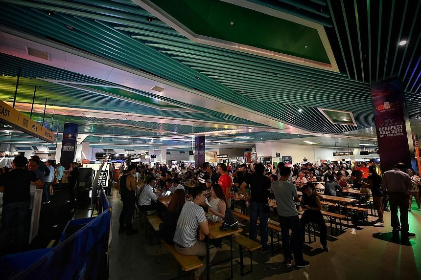 Visitors to Beerfest Asia yesterday got to enjoy workshops and performances by tribute bands.