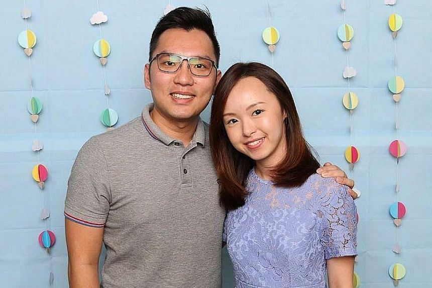 Ms Lydia Lim and her husband Jair Ng are co-founders of The Clay Day, which sells its jewellery at weekend pop-up booths.