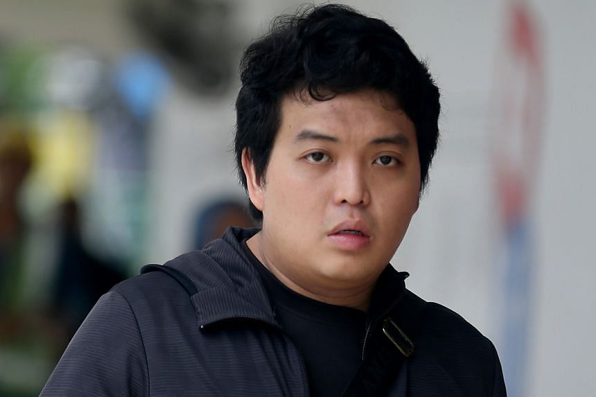 Wong Song Biao pleaded guilty to using criminal force to outrage the 19-year-old's modesty on Oct 15 last year.