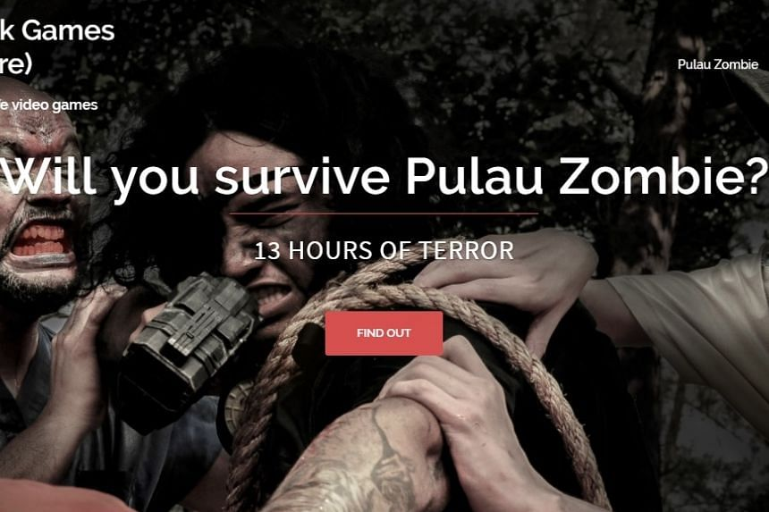 """Pulau Zombie was planned as a 13-hour adventure set amid a """"zombie apocalypse"""" on St John's Island. PHOTO: VOID DECK GAMES"""