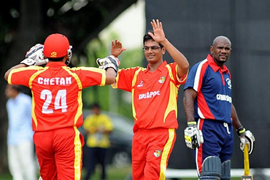 Singapore won their second consecutive match in the SEA Games men's 50-overs cricket tournament by four wickets on Aug 20, 2017.