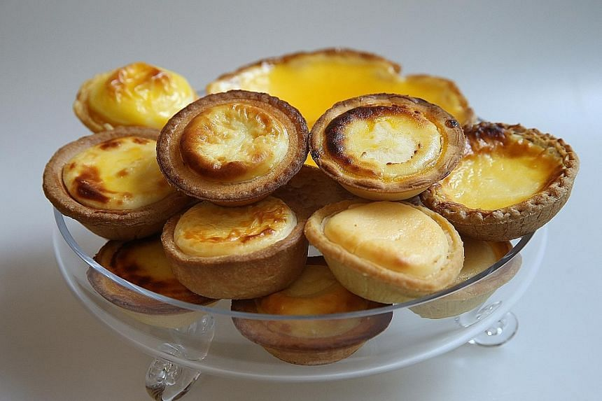 Judges found a winner among the 10 cheese tarts from nine shops in a blind taste test.