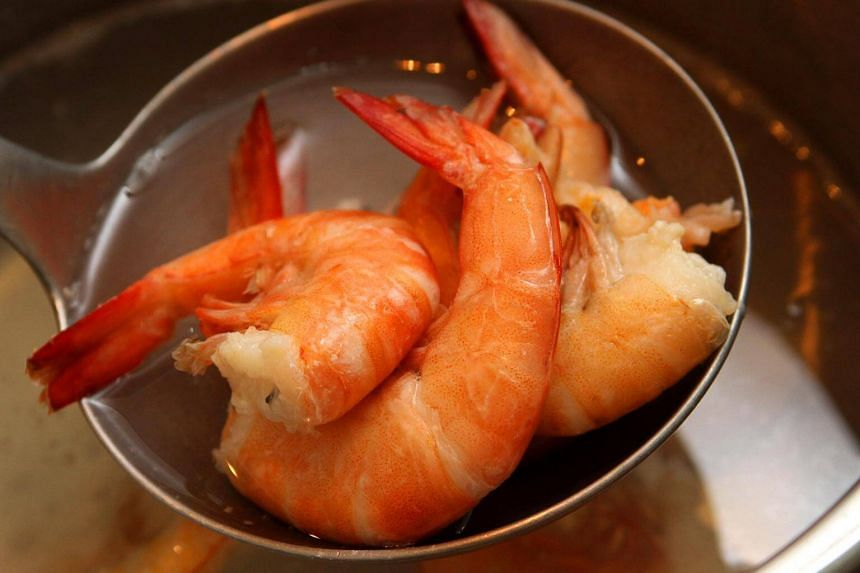 Mrs Khoo Siew Hong started itching after eating two prawns that her helpers had prepared for laksa on March 8. She then went limp and later died in hospital from an allergic reaction to the shellfish.