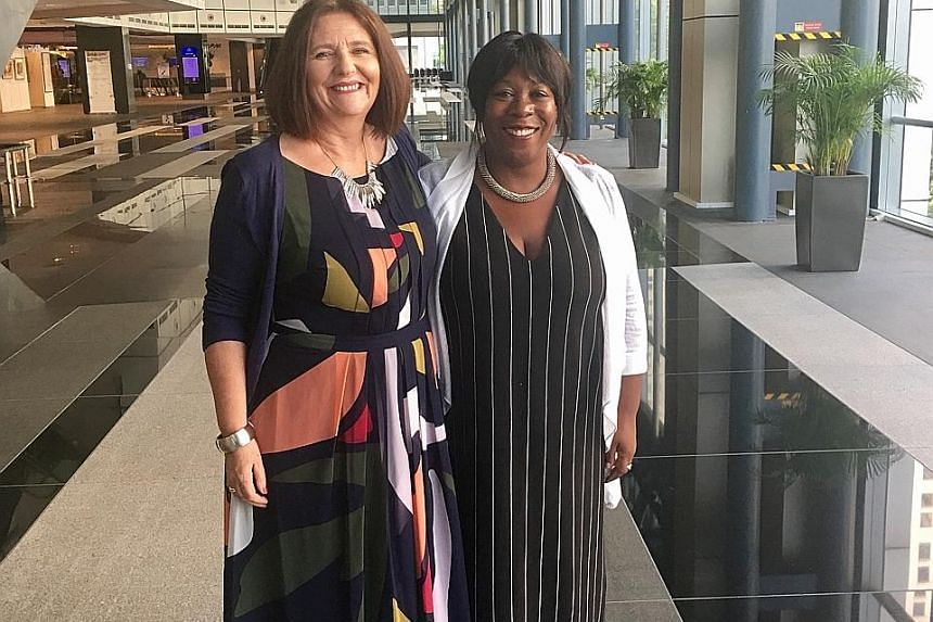 Dr Nicky Reid (left) and Mrs Marilyn Holness from the University of Roehampton are behind the Money Doctors financial literacy support service that helps students across Britain manage their money.