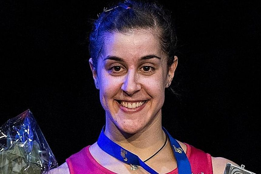 Chen Long and Carolina Marin are seeded fifth and third respectively but will be dangerous opponents.