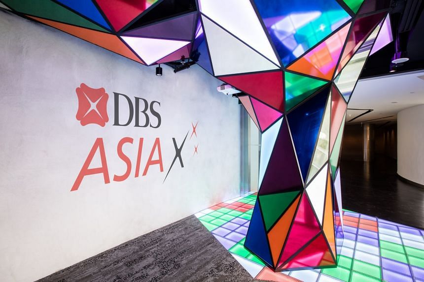 The DBS Asia X centre, a purpose-built innovation facility for DBS employees to come together, design and develop iconic customer journeys and work in close collaboration with start-ups and the broader fintech community.